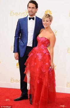 Kaley with her husband Ryan Sweeting