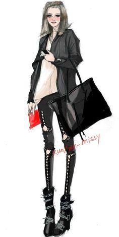 【fashion illustration】 by hreshtak