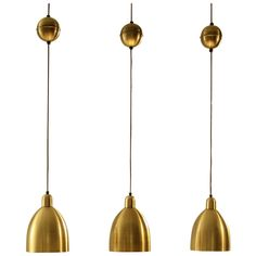 Vintage Kitchen Lights (check size) 1stdibs | Set of Three Glass Mirror Counterweight Pendant Lamps RRP $1281