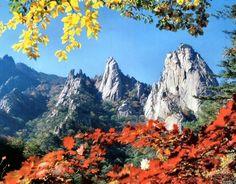 Seoraksan in Autumn, Sokcho, Korea