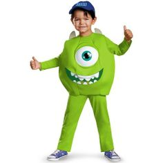 Disfraz Mike - Sully Monster University Completo Vs Modelos