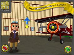 2BME Aviator offers young children a glimpse into the life of an aviator through interactive activities.