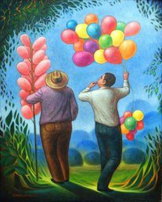 Vendedores de Colores by Carlos Orduna