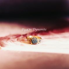 One of a kind Valentine. www.PigeonDynamite.etsy.com バレンタインには世界にひとつだけのジュエリー#pigeondynamite #engagementring #oneofakind #oneofakindring #bridaljewelry #rawdiamond #goldring #anniversary #valentinesday #giftideas #etsyjewelry #etsy #madeinnyc #handmadering #指輪#エンゲージメントリング#クリーマ#ニューヨーク#ご褒美ジュエリー#ギフト#贈り物#ファインジュエリー#婚約指輪#一点もの#原石ダイヤモンド#ダイヤモンドリング