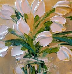Jan Ironside ~ more Pink Tulips