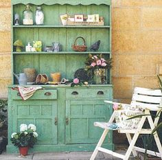 Brabourne Farm: Cupboard for the Garden Shed