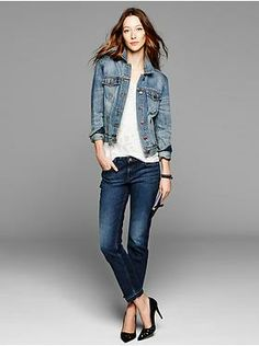 Women's Clothing: Women's Clothing: Featured Outfits Outerwear & Blazers | Gap $69.95 / 40% off until 3/30/14