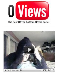 Um site que reúne vídeos que fracassam no YouTube