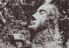 Guatemala - cabeça de pedra
