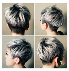 Cute haircut and hairstyle
