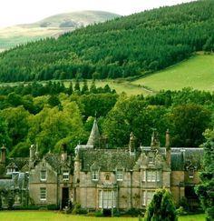 Dawyck castle, Scotland