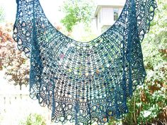 Crochet Cassandra Shawl by Lily Go