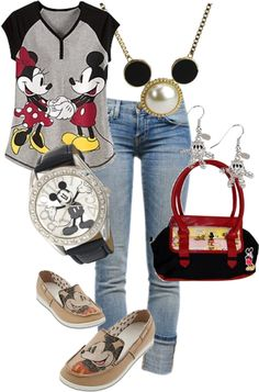 MICKEY MOUSE, created by momo1999momo1999 on Polyvore