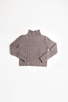 Hugo cabled pullover - Brooklyn Tweed