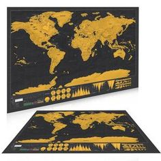 Scratch Off World Map Personalized Vintage Travel World Map Poster Sticker Vacation National geographic Retro maps National Geographic, Unique Maps, World Map Poster, Antique Paint, Us Map, Travel Maps, Vintage Posters, Maps Posters, Poster Wall