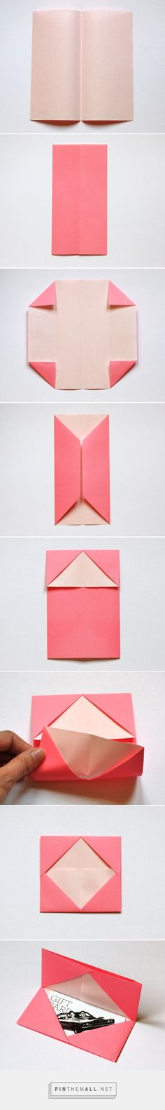 How to make an origami business card holder | How About Orange - created via http://pinthemall.net