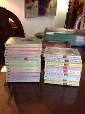 Vintage Harlequin and Silhouette Paperback books Lot Of 21 Lkok