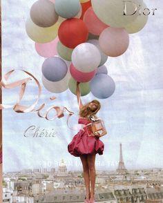 Dior Cherie Ad Campaign