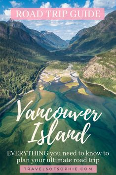 A complete guide to help you plan your ultimate road trip to Vancouver Island British Colombia. Complete with maps and all the best places to photograph on one of Canada's best drives. Vancouver Island, Visit Vancouver, West Coast Trail, West Coast Road Trip, Banff, Alberta Canada, Canadian Travel, Holiday Travel, Holiday Trip
