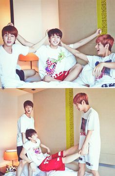This is a Bangtan sleepover? Sweet! Can I join?