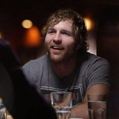 Table for Three Jonathan Lee, Wwe Dean Ambrose, Catch, The Shield Wwe, Wrestling Stars, Wwe World, Stud Muffin, Thing 1, Seth Rollins