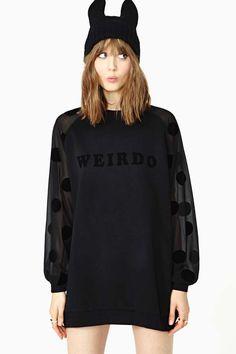 Lazy Oaf Weirdo Sweatshirt