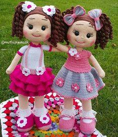 Free Amigurumi Crochet Doll Pattern and Design ideas – Page 8 of 37 – Daily Crochet! Free Amigurumi Crochet Doll Pattern and Design ideas – Page 8 of 37 – Daily Crochet!Free cute amigurumi patterns 25 amazing crochet ideas for beginners to make ea Crochet Dolls Free Patterns, Crochet Doll Pattern, Amigurumi Patterns, Amigurumi Doll, Cute Crochet, Crochet Baby, Knitted Dolls, Yarn Crafts, Diy Crafts