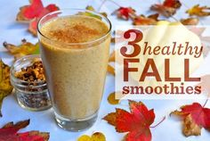 3 Healthy Fall Smoothie Recipes | Healthy Recipes | Washingtonian