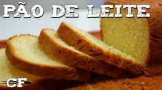 Pão de Leite feito em uma maquina de pão.