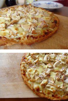 Ina Is(s)t: Hühnchen-Pizza mit Thymian und Rosmarin