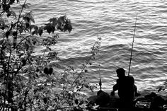 Fisherman fishing in Croton Point Park, NY Westchester County, Gone Fishing, Hudson Valley, Brother, Calm, Boat, River, Explore, Places