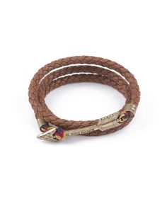 Kiel James Patrick Geronimo Basin wrap bracelet!  Available in sizes XS-M  www.keenelandgiftshop.com