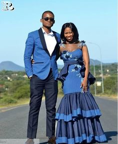 the best couples shweshwe dresses for We accept aggregate the ultimate account of couples analogous apparel account to advice booty your accord African Print Wedding Dress, African Wedding Attire, African Attire, African Dress, African Wear, African Fashion Traditional, African Traditional Wedding Dress, Seshweshwe Dresses, Couples African Outfits