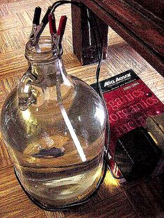 Making your own colloidal silver.