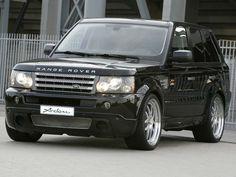 Arden Range Rover Sport (2006) - Front Side View
