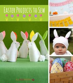 Let the little one in your life hop around in style with these precious Bunny Feet Easter Crafts. These adorable little DIY slippers are just too cute to pass up.
