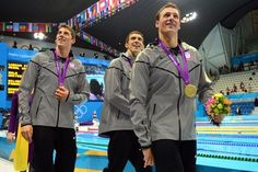<b>Lots of powerful relationships are made at the Olympics. But perhaps none is more significant than the swimmers that together make Phelpte.</b> Feel the love.