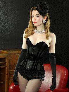 I have these shorts and the gloves.  All I need is the corset :)