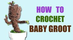 To skip the intro, go to 7:04. The full pattern is available on my blog: http://blog.twinkiechan.com/2014/08/13/baby-groot/ My baby Groot giveaway is also li...
