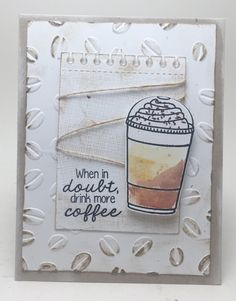 Homemade Cards by Erin: Summer Coffee Lovers Blog Hop