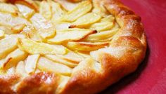 Rustic Rosemary-Apple Tart | The Splendid Table I think this could be adapted for a GF version.