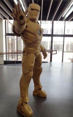 Ironman de cartón