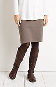 ponte knit houndstooth pencil skirt from J.Jill  Charcoal, probably large