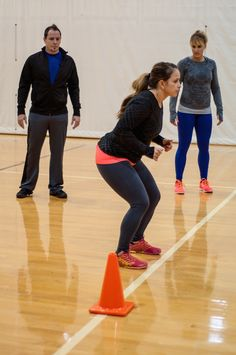 Learn proper form for the crossover step.