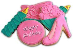 Happy Birthday pretty lady! #sugarcookies #birthday