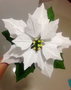Best 11 Create your own Paper Flower Using this template. How To Make Paper Flowers, Tissue Paper Flowers, Paper Flower Backdrop, Poinsettia Flower, Christmas Flowers, Christmas Paper, Giant Paper Flowers, Big Flowers, Sugar Flowers