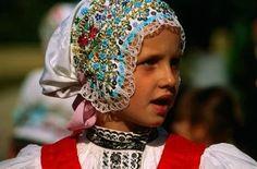 Czech folk head-dress