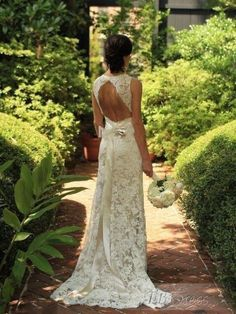 Wonderful Perfect Wedding Dress For The Bride Ideas. Ineffable Perfect Wedding Dress For The Bride Ideas. Lace Wedding, Dream Wedding, Backless Wedding, Garden Wedding, Wedding Things, Wedding Bride, Gown Wedding, Wedding Stuff, Elegant Wedding