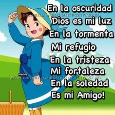 Dios es mi paz...