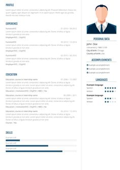 20 best cv5 io easy online resume builder images on pinterest